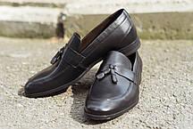 Туфлі шоколадного кольору., фото 2