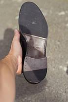 Туфлі шоколадного кольору., фото 3