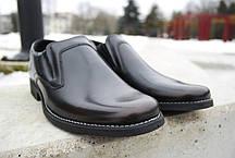 Обирай якісне! Шкіряні чоловічі туфлі від польського виробника., фото 2