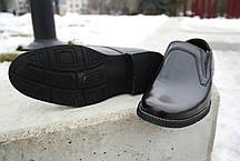 Обирай якісне! Шкіряні чоловічі туфлі від польського виробника., фото 3