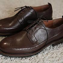 Туфлі руді броги, фото 3
