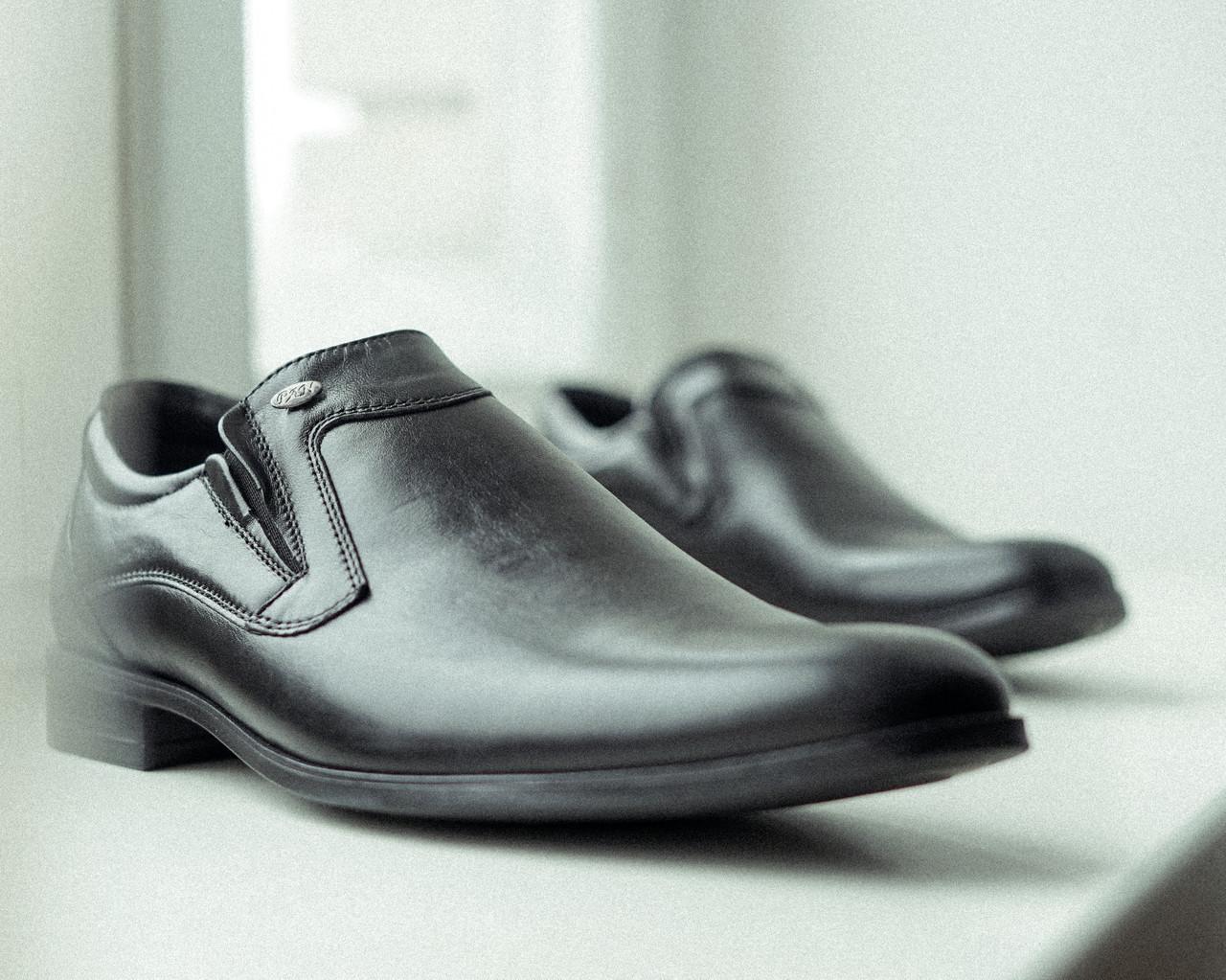 Чорні матові туфлі польського виробництва. Ваш комфортний ВИБІР!