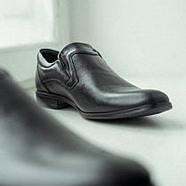 Чорні матові туфлі польського виробництва. Ваш комфортний ВИБІР!, фото 2