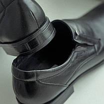 Чорні матові туфлі польського виробництва. Ваш комфортний ВИБІР!, фото 3