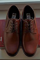 Коричневі туфлі Brogue, фото 3