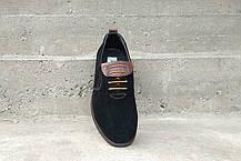 Туфлі замшеві VadRus чорні - 41,5 розмір, фото 2