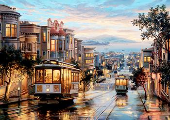 Пазлы Anatolian 1500 элементов Улицы Сан-Франциско Гарантия качества Быстрая доставка