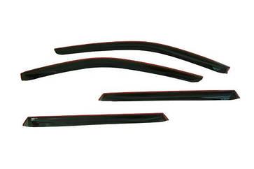 Ветровики (Накладной Дефлектор двери к-кт 4 шт) ВАЗ 1117 Калина