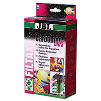 Суперактивный гранулированный уголь JBL Carbomec ultra для фильтров в морских аквариумах, 400 u