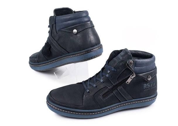 Ботинки мужские Belvas синие, фото 2