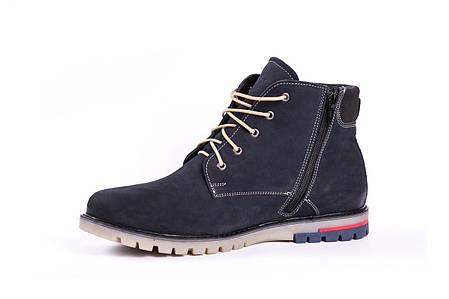Зимові черевики Marko нубук, сині, фото 2