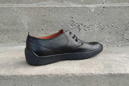 Туфлі чорні Safari, фото 2