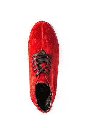 Червоні зимові черевики Prime shoes, фото 2