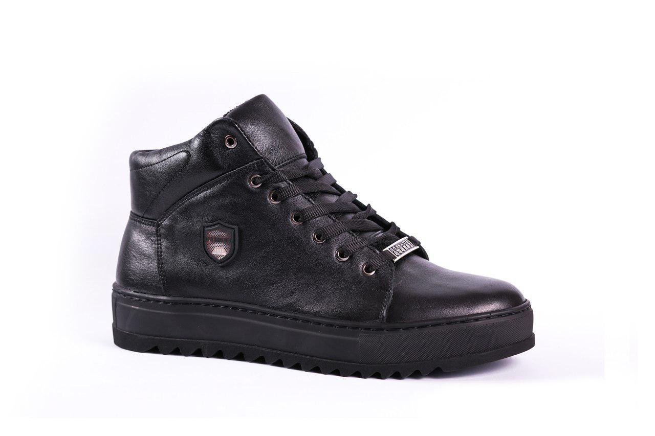 Зимові черевики Konors чорні - 45 розмір
