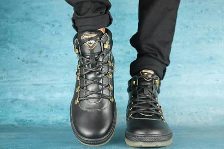 Зимові черевики чорні PAV, фото 2