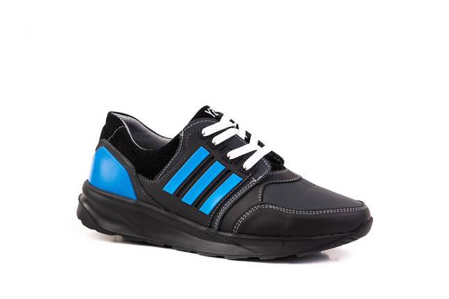 Підліткові шкіряні кросівки 36, 37 розміри, фото 2