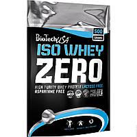Изолят сывороточный ISO Whey Zero BioTech USA 500g безлактозный протеин