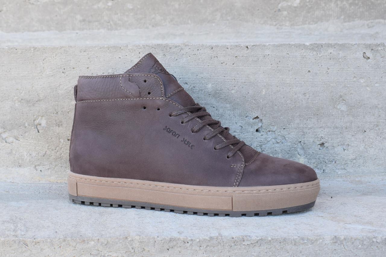 Зимові черевики коричневі Safari