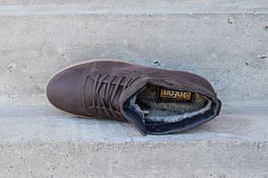 Зимові черевики коричневі Safari, фото 2