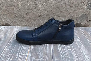 Чоловічі черевики VadRus сині, фото 2