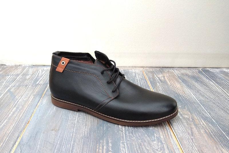 Зимові шкіряні черевики Lucky Choice