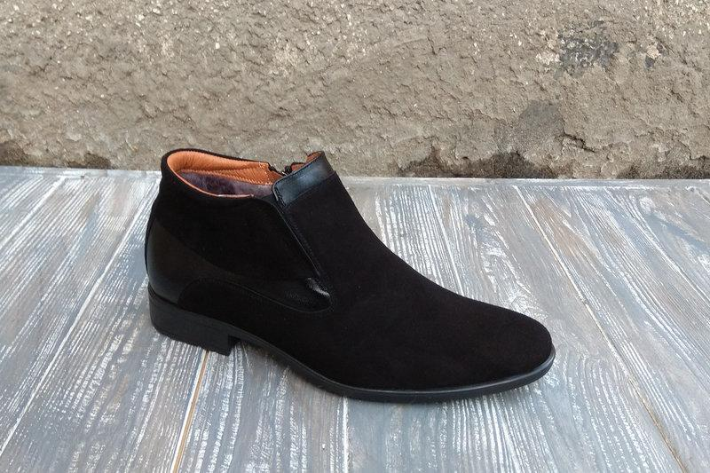 Замшеві черевики Tapi