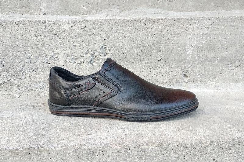Туфлі чорні Polbut