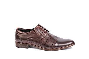 Туфлі літні Minardi коричневі, фото 2