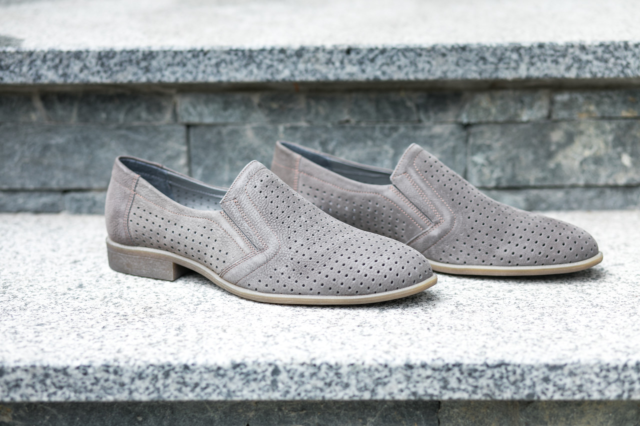 Туфлі літні ІКОС сірі
