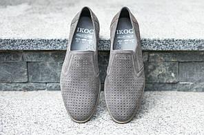 Туфлі літні ІКОС сірі, фото 3