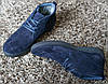 Замшеві черевики Safari сині, фото 2