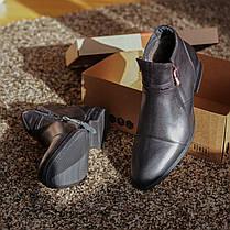 Черевики зимові чорні Rondo, фото 3