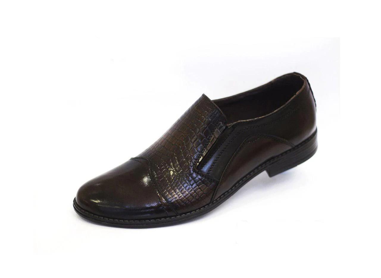 Туфлі чоловічі, чорні.