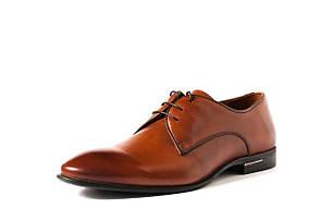 Туфлі дербі, руді, фото 2