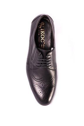 Туфлі броги, чорні ., фото 2