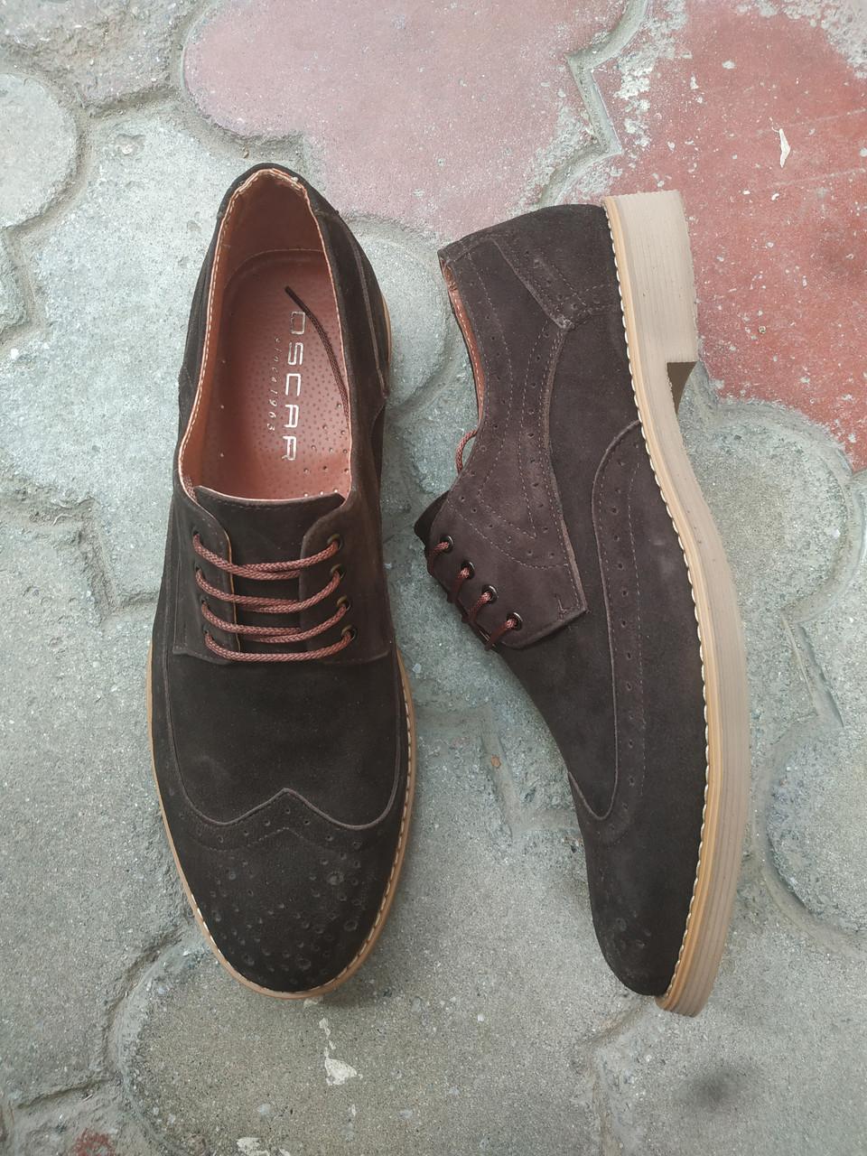 Чоловічі туфлі броги.