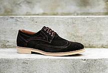 Чоловічі туфлі броги., фото 3