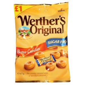 Werthers Original Butter Candy Bag, 65 г