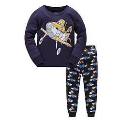 Пижама для мальчика Plane Baobaby (90)