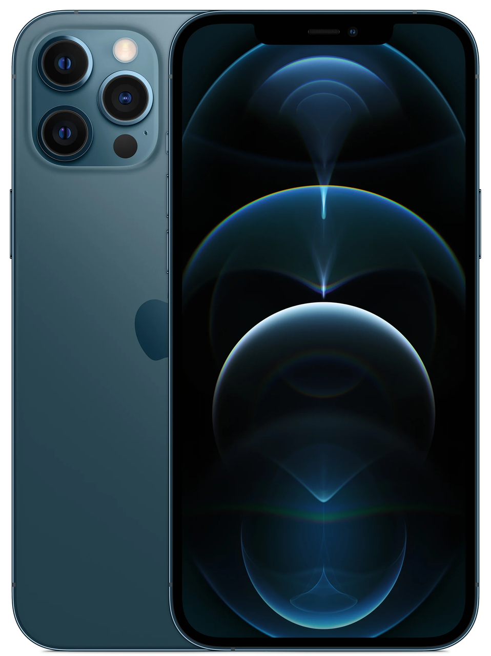 Смартфон Apple iPhone 12 Pro Max 256GB Dual Sim Pacific Blue (MGС73)