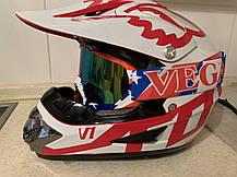 Разноцветная  красная маска  хамелеон очки для кроссового мотоцикла для горнолыжного шлема, фото 3