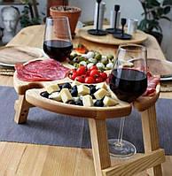 Винный столик (Дуб Канадський)