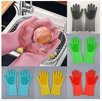 Перчатки силиконовые многофункциональные 2 шт