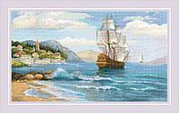 Набор для вышивки крестом Риолис 1900 «К далеким берегам»