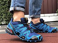 Salomon Speedcross 3 демісезонні чоловічі кросівки в стилі Саломон сині