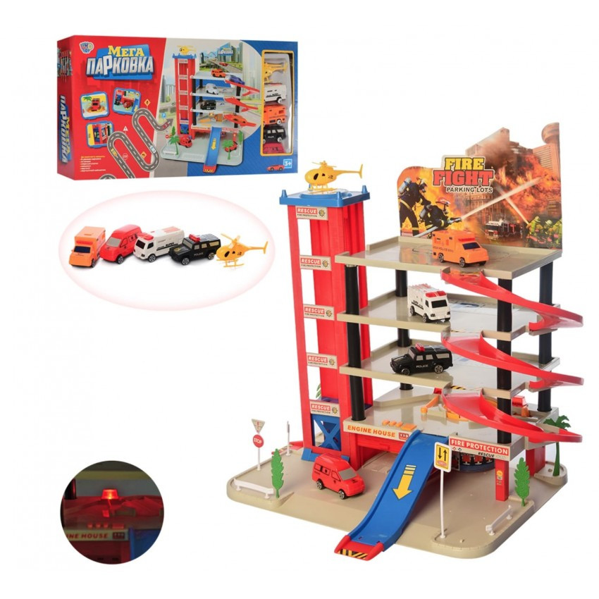Limo Toy / Паркинг гараж Мега Парковка Limo toy 0845 (5 этажей)