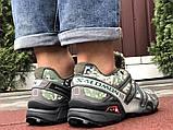 Демисезонные мужские кроссовки Salomon Speedcross 3 в стиле Саломон милитари, фото 3