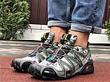 Демисезонные мужские кроссовки Salomon Speedcross 3 в стиле Саломон милитари, фото 5