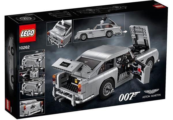 Конструктор LEGO Creator James Bond™ Астон Мартин (10262)