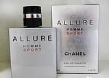 Мужская туалетная вода Chanel Allure homme Sport люкс 100 мл, фото 2
